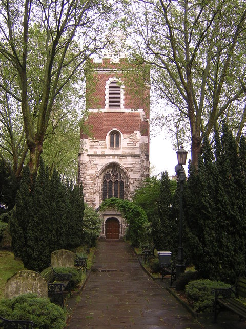 Bow Church from the west