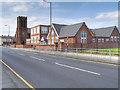 SJ3198 : St Edmund's and St Thomas' Catholic Primary School, Oxford Road by David Dixon
