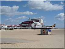TG5307 : End of Britannia Pier, Great Yarmouth by JThomas