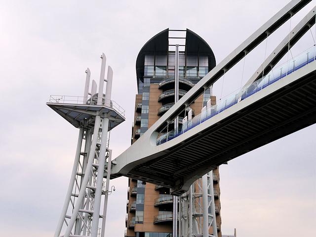 Lowry Bridge Deck Raised