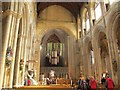 SE3171 : Ripon Cathedral - festival interior by Stephen Craven