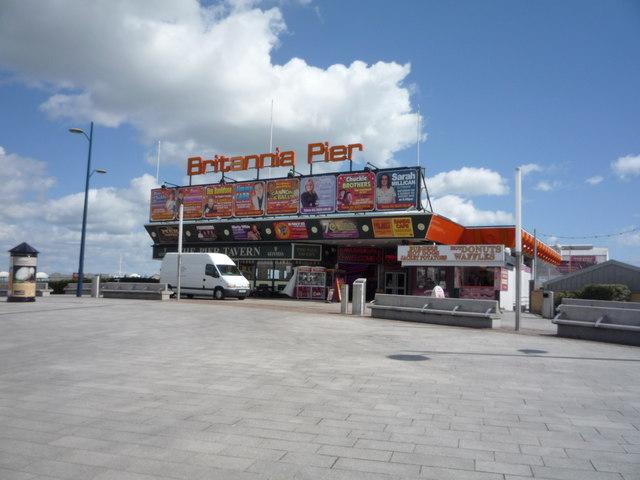 Entrance to Britannia Pier, Great Yarmouth