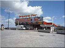 TG5307 : Entrance to Britannia Pier, Great Yarmouth by JThomas