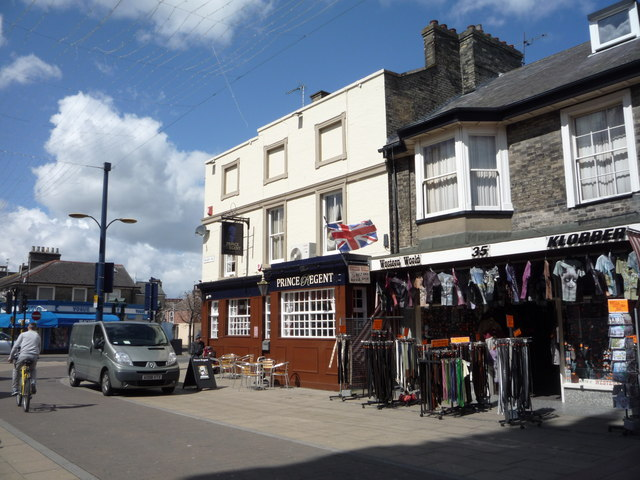 The Prince Regent public house, Great Yarmouth