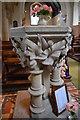 TF0780 : Font, All Saints' church, Snelland by Julian P Guffogg