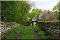 NY9538 : Village Hall at Eastgate by Trevor Littlewood