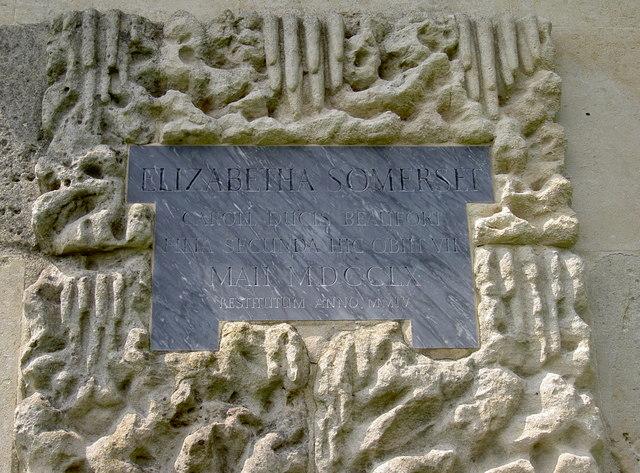 Inscription to Elizabeth
