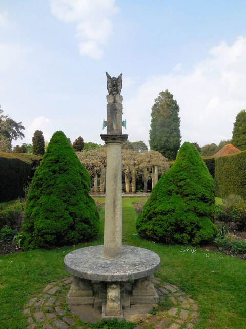 Sundial - Exbury Gardens