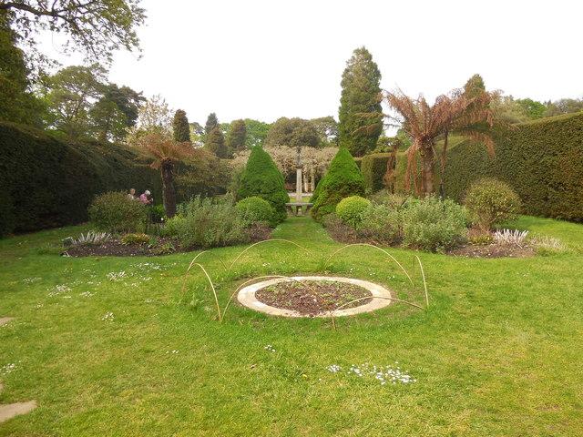 Sundial Garden- Exbury Gardens by Paul Gillett