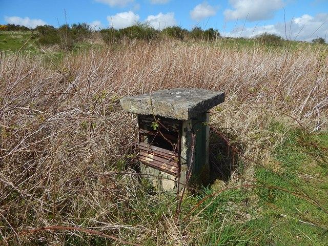 Barrhead ROC Bunker: Second ventilation shaft