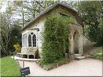 ST7734 : The Watch Cottage at Stourhead Garden by Derek Voller