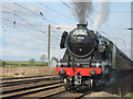 NT5179 : The Cathedrals Express by M J Richardson