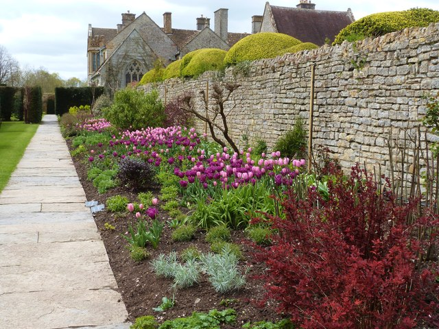 Gardens of Lytes Cary Manor, near Somerton, Somerset