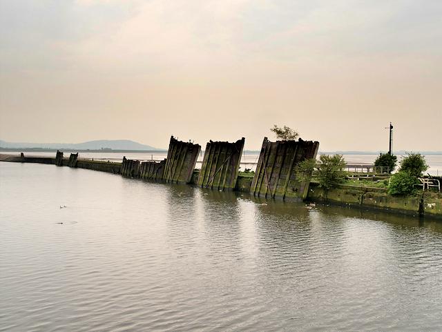 Largest Cargo Ship >> Old Lock Gates Left To Rot, Manchester... © David Dixon cc ...