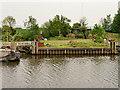 SJ4878 : Manchester Ship Canal, Wharf near Frodsham by David Dixon