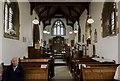SK9396 : Interior, St Radegund's church, Grayingham by Julian P Guffogg