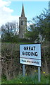 TL1183 : Church of St Michael in Great Gidding by Mat Fascione