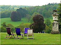 TQ1352 : View south from Polesden Lacey, Great Bookham, near Dorking by Brian Robert Marshall