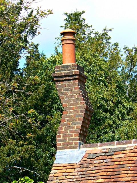 Chimney, Garden Cottage, Polesden Lacey, Great Bookham, near Dorking