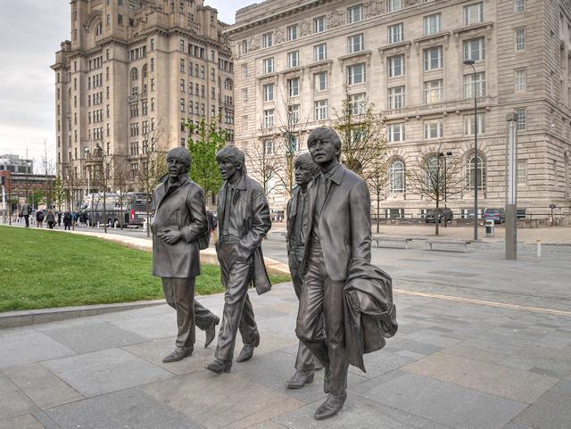 Beatles Statue, Liverpool Pier Head
