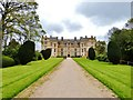 ST4917 : The Western façade and entrance to Montacute House by Derek Voller