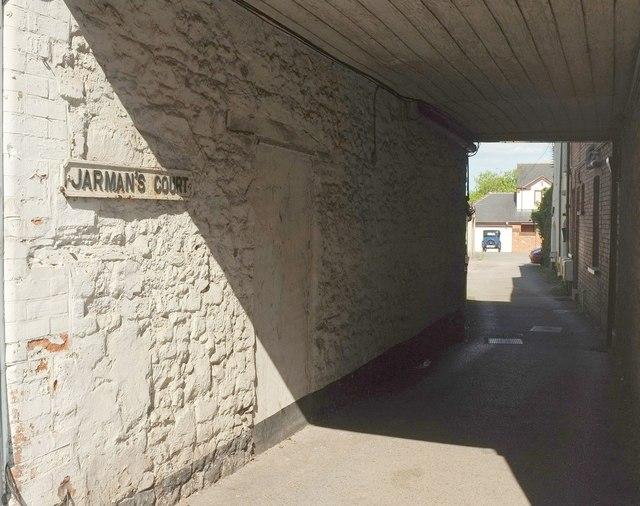 Jarman's Court, Cullompton