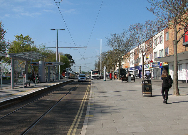 Clifton Centre tram stop