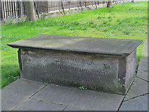 NZ2464 : The Hodgson tomb, the Church of St. John the Baptist, Grainger Street, NE1 by Mike Quinn