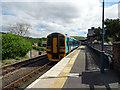 SH7401 : A train for Birmingham International at Machynlleth by John Lucas