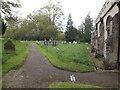 TM0753 : St.Mary's Churchyard by Geographer