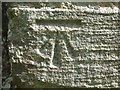 SO7937 : OS Cutmark, Castlemorton church by Philip Halling