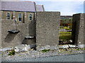 G5384 : Steps in church wall, Clencolumbkille by Kenneth  Allen