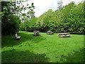 SK3916 : Picnic area in Coleorton Wood by Ian Calderwood
