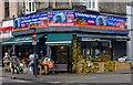 TQ2584 : Corner shop, Kingsgate Place/Kilburn High Road by Jim Osley
