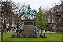 NT2473 : Edinburgh : Charlotte Square - Prince Albert Memorial by Lewis Clarke