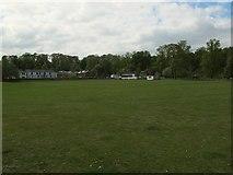 NY6820 : Appleby cricket pitch by Stephen Craven