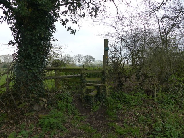 Stile near Great Barrow