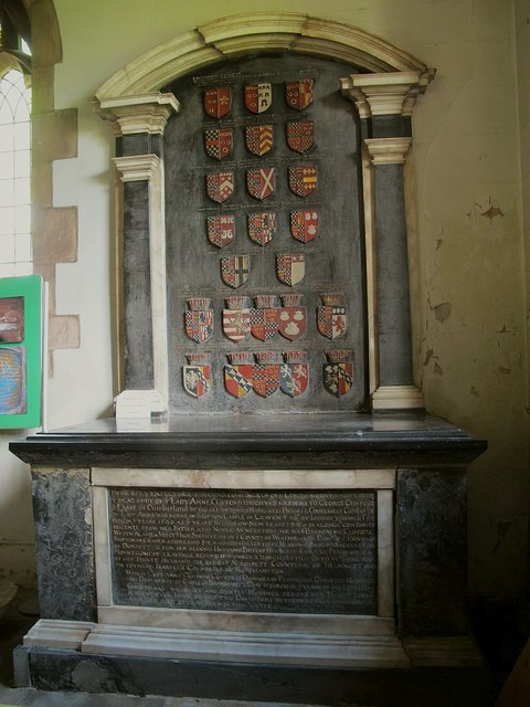 St Lawrence, Appleby: tomb of Lady Anne Clifford