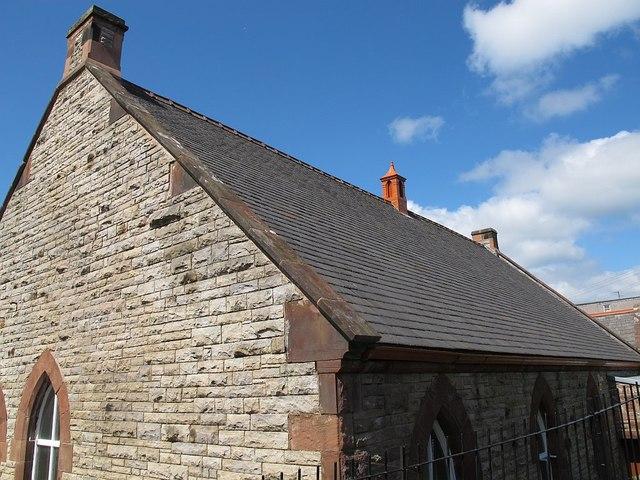 Westmorland slate roof