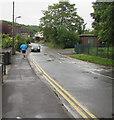 ST3090 : Jogging along Pillmawr Road, Malpas, Newport by Jaggery