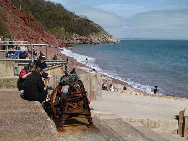 Oddicombe beach - rusty winch