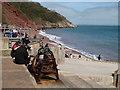 SX9265 : Oddicombe beach - rusty winch by Chris Allen
