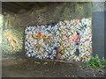 SO8696 : Railway Path Art Work by Gordon Griffiths