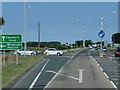 TF3525 : A17 Westbound near Holbeach by David Dixon