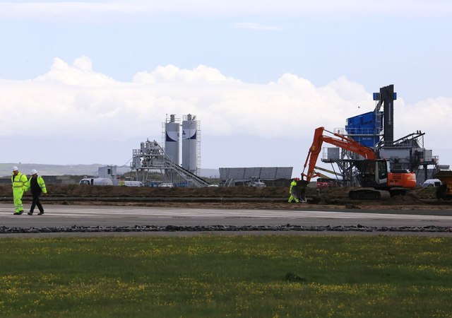 RAF Valley resurfacing work
