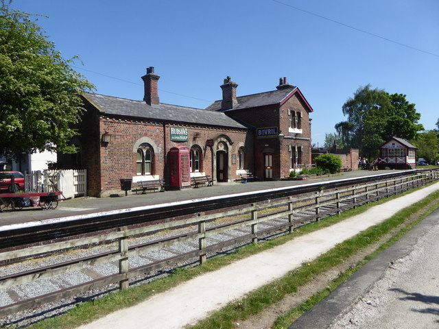 Hadlow Road Railway Station
