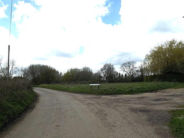 Banters Lane at Tooks Common