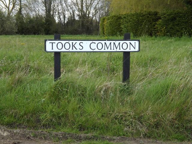 Tooks Common sign