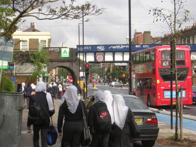 School's out: Bow Road