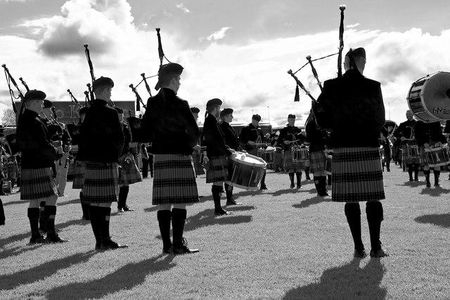 The British Pipe Band Championships 2016